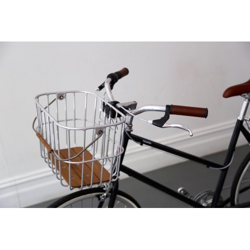 BROOKS - Hoxton basket in silver