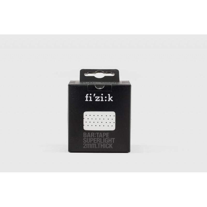 Fi'zik — Лента за кормилни дръжки Superlight Classic, 2 мм, бяла