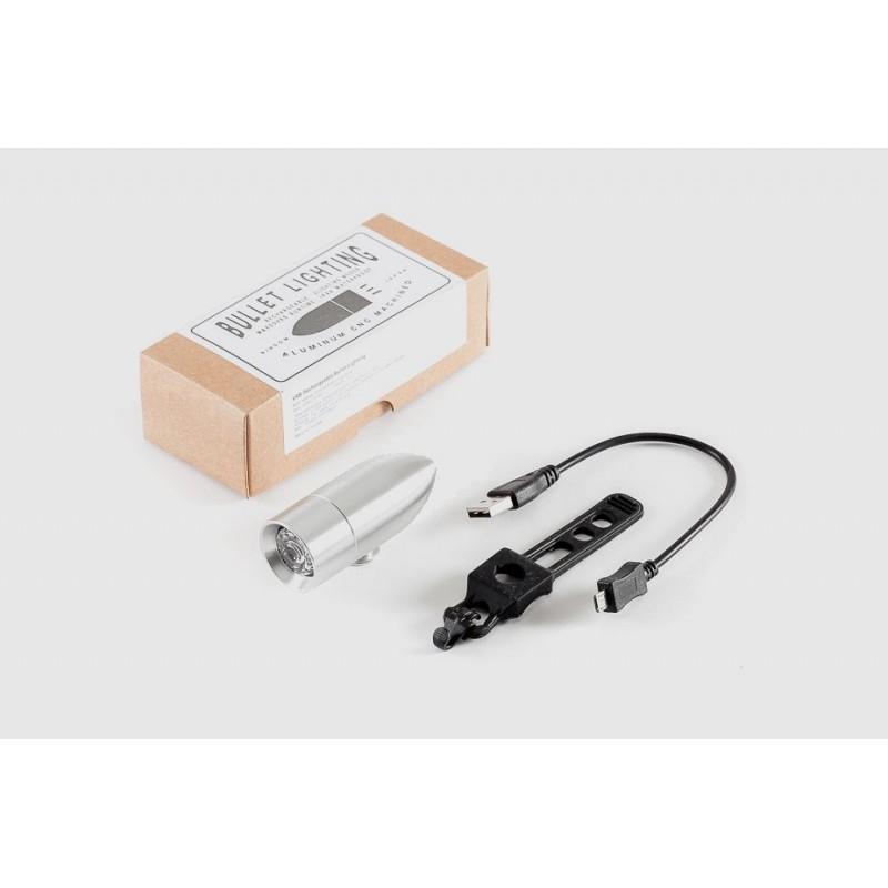 RINDOW — Алуминиева сигнална светлина Bullet с USB зареждане