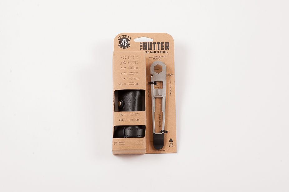 Full Windsor — велосипеден инструмент The Nutter в черен калъф